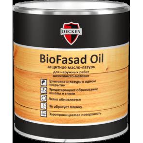 Защитное масло лазурь BioFasad Oil в Самаре.