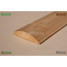 Блок-хаус Сосна 36х137 мм сорт АВ