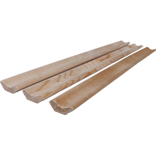 Плинтус деревянный Липа 45х1800-3000 мм сорт А