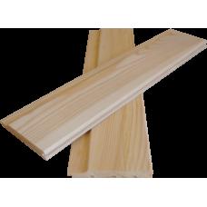Вагонка Сосна Штиль 14х85 мм сорт В длина 2,2; 2,5; 3; 3,5; 4 метра