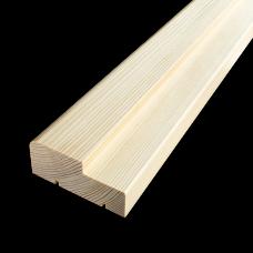 Коробочный брус Сосна 35х70 мм
