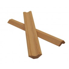 Плинтус деревянный Кедр Сибирский 16х50 мм сорт АВ