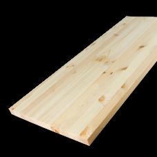 Мебельный щит Сосна 40х600х3000 мм сорт Экстра