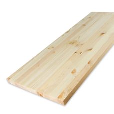 Мебельный щит Сосна 40х400х3000 мм сорт Экстра