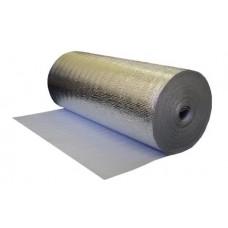 Мегафлекс утеплитель Фольга алюминиевая 50 мкр. 0.5х1000 мм